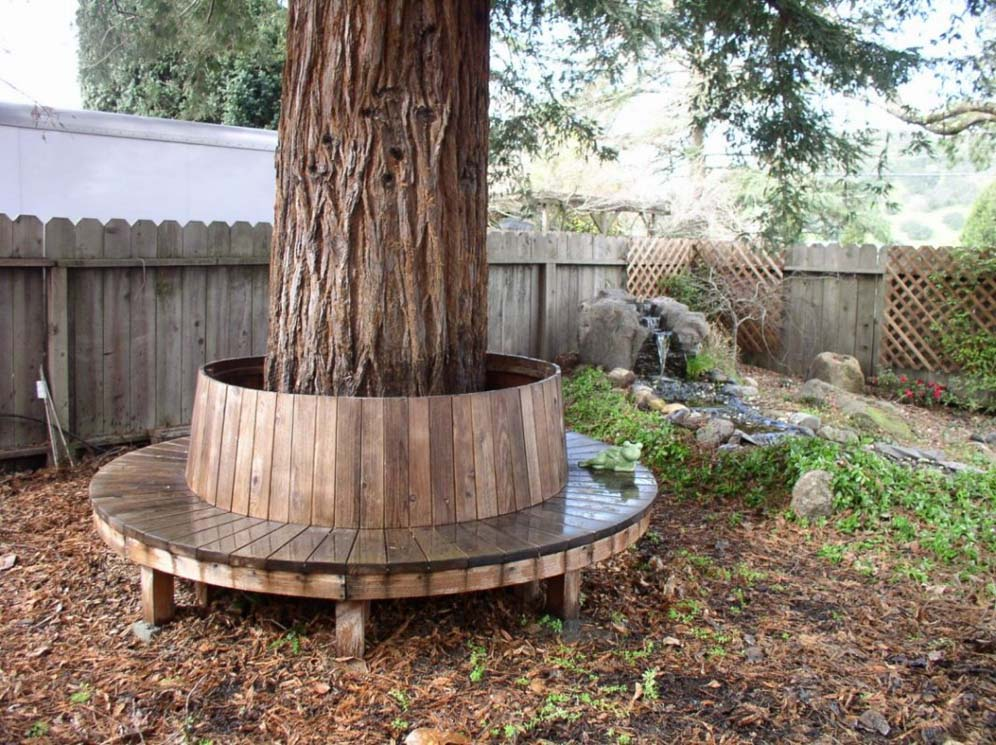 Circular tree bench Circular tree bench